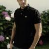 Nooch-polo_Noir-Homme-profil