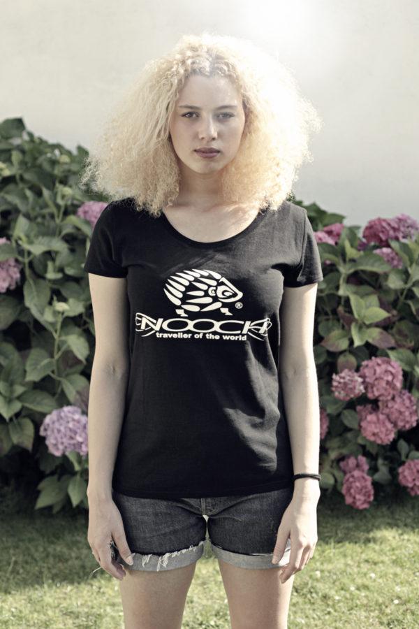 Nooch-tshirt_Noir-Femme-face